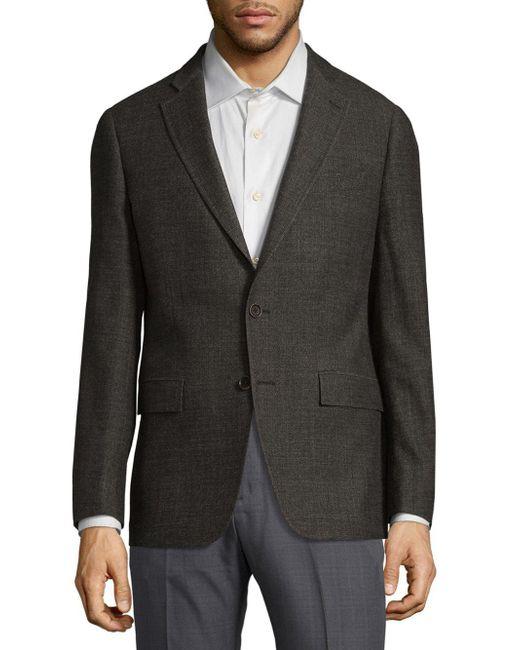 Michael Kors - Brown Melange Wool Sportcoat for Men - Lyst