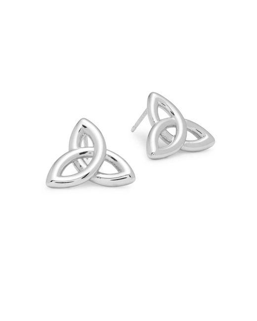 Saks Fifth Avenue | Metallic Sterling Silver Celtic Infinite Earrings | Lyst