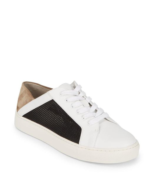 Vince - White Anette Alabaster Sneakers - Lyst