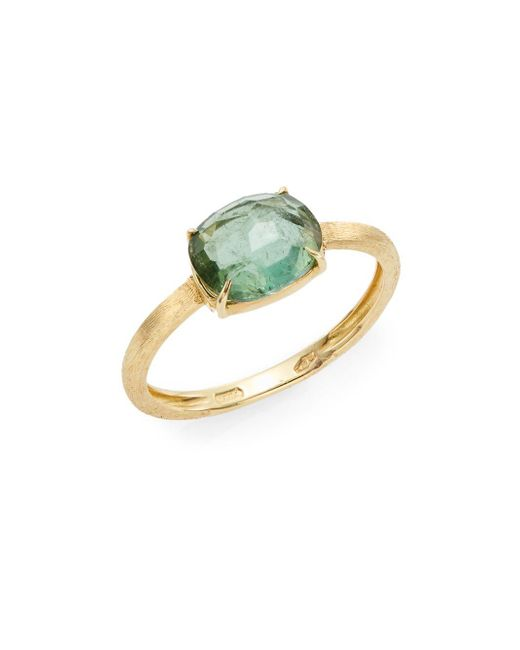 Marco Bicego | Metallic Murano Green Tourmaline & 18k Yellow Gold Ring | Lyst