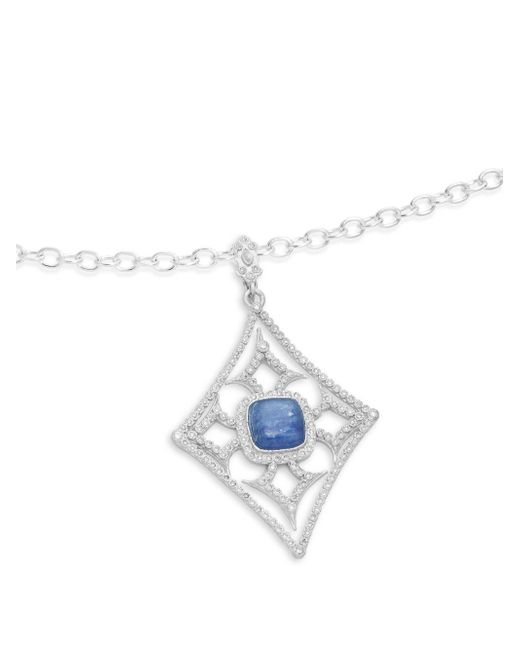Armenta - Metallic New World Diamond & Mother Of Pearl Enhancer Pendant - Lyst