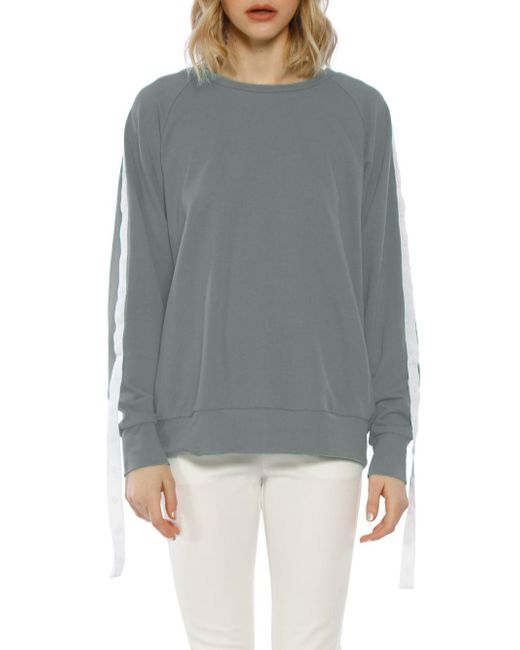 W118 by Walter Baker - Gray Parker Cotton Sweatshirt - Lyst