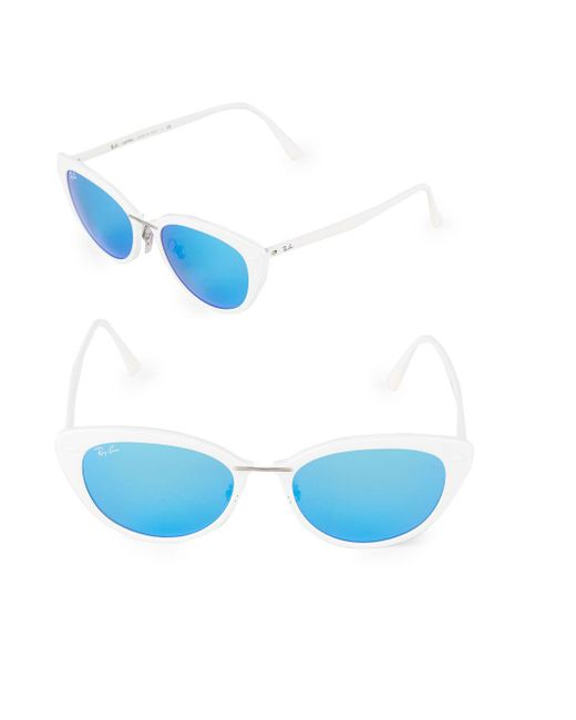 Ray-Ban - White Butterfly Sunglasses - Lyst