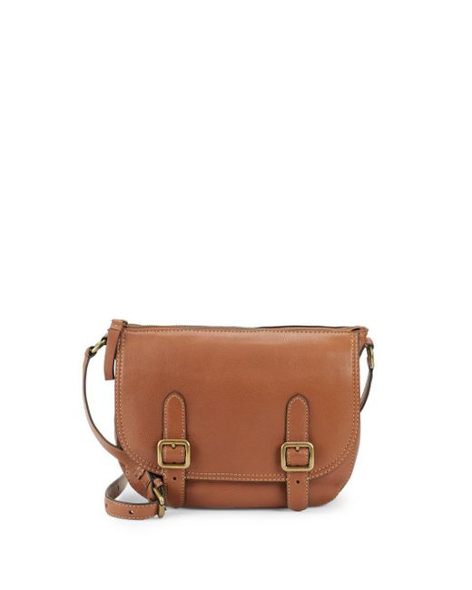 Frye - Brown Lily Leather Crossbody - Lyst