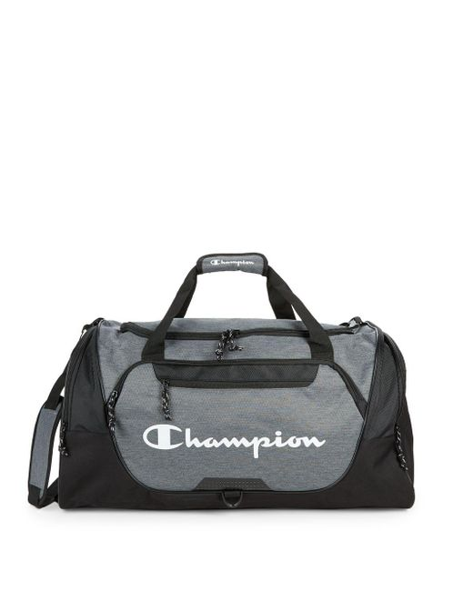 Champion - Gray Forever Champ Expedition Duffel Bag for Men - Lyst