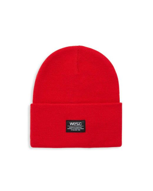 Wesc | Red Puncho Beanie | Lyst