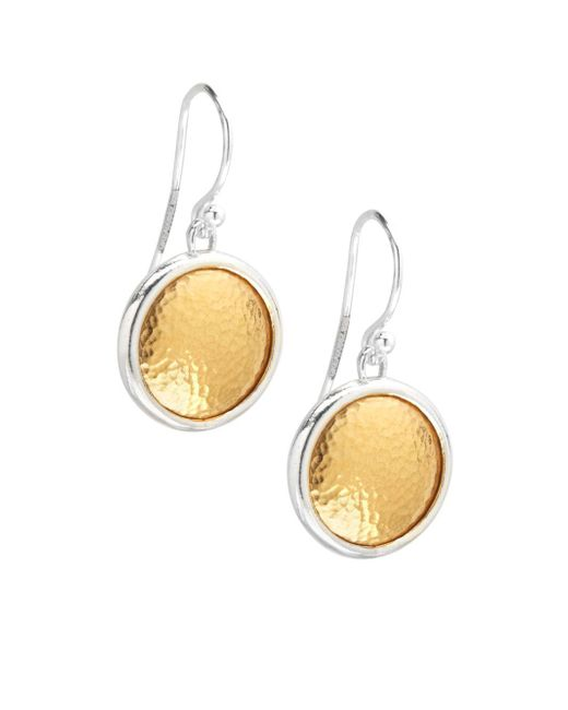 Gurhan - Metallic 24k Gold Vermeil Earrings - Lyst