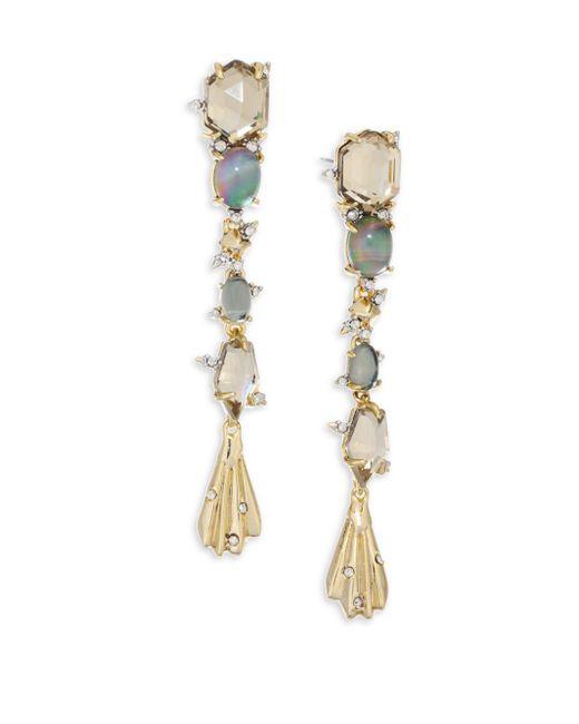 Alexis Bittar - Metallic Elements Dangling Crystal & 10k Yellow Gold Drop Earrings - Lyst