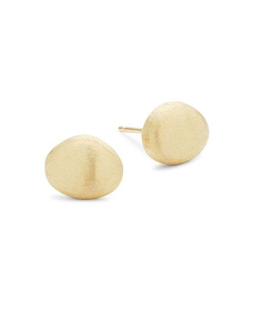 Marco Bicego - Metallic 18k Yellow Gold Stud Earrings - Lyst