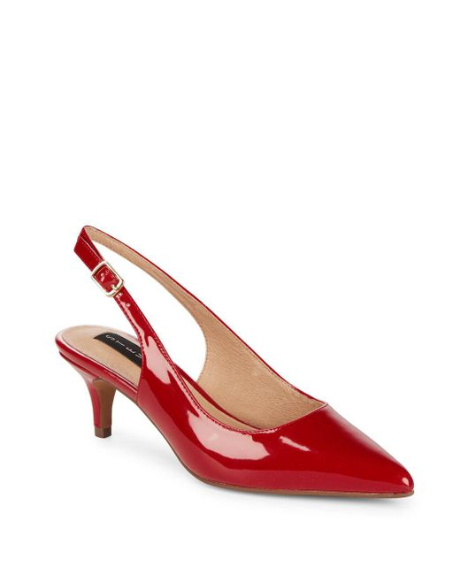 Steven by Steve Madden - Red Envie Point Toe Pumps - Lyst