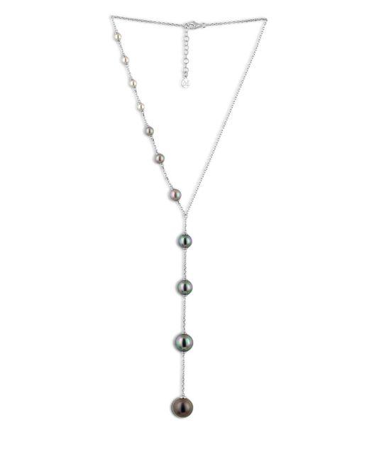 Majorica - Metallic Illusion Organic Pearl & Sterling Silver Y Necklace - Lyst