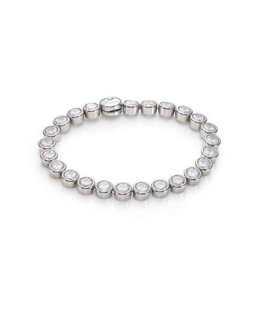 Michael Kors - Metallic Park Avenue Glam Jeweled Tennis Bracelet - Lyst