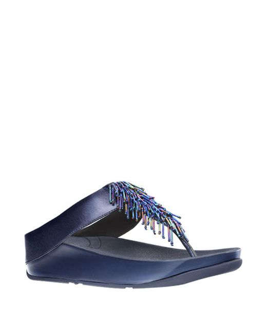 Fitflop | Blue Cha Cha Tm Sandal Wedges | Lyst