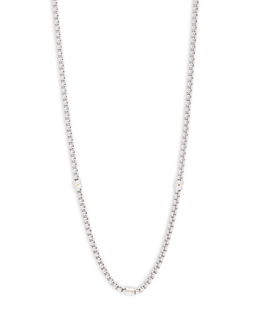 Saks Fifth Avenue - Metallic 14k Goldplated Box Chain Necklace - Lyst