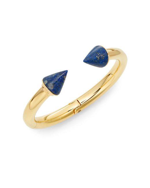 Vita Fede - Metallic Classic Titan Lapis Cuff Bracelet/goldtone - Lyst