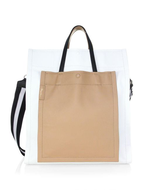 3.1 Phillip Lim - Natural Leather Accordion Tote - Lyst