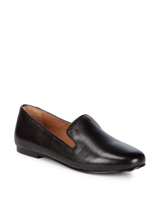 Gentle Souls - Black Eugene Leather Loafers - Lyst