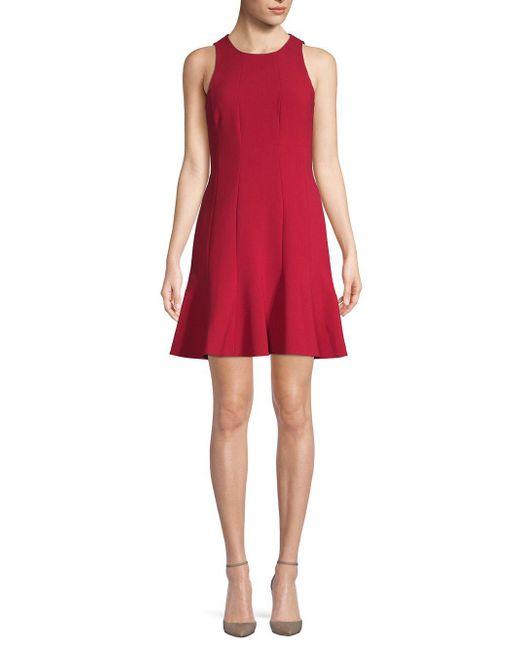 Elizabeth and James - Red Rooney Paneled Dress - Lyst