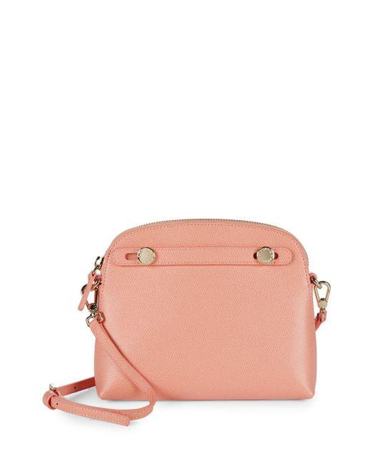 Furla - Pink Piper Xl Crossbody Bag - Lyst