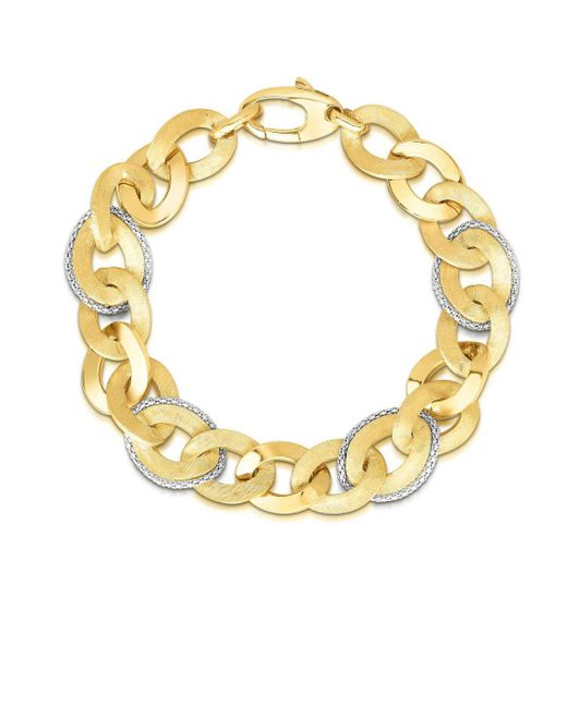 Saks Fifth Avenue - Metallic 14k Yellow Gold Chain Bracelet - Lyst
