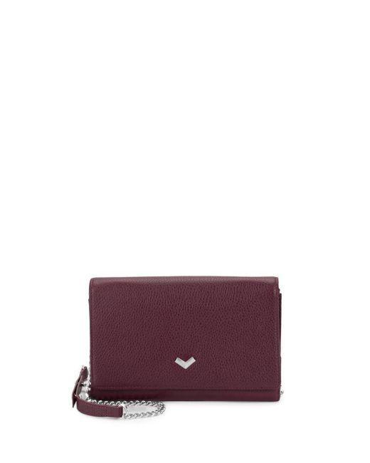 Botkier - Purple Soho Convertible Leather Wallet - Lyst