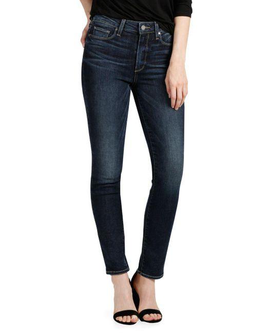 PAIGE - Blue Hoxton Ankle Jeans - Lyst