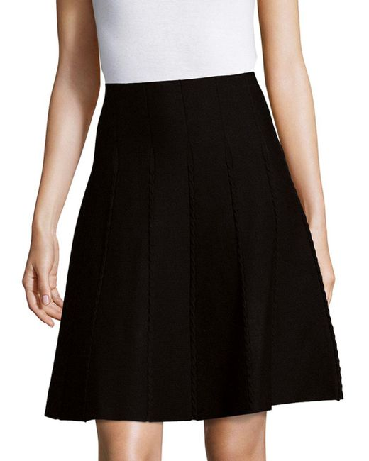 Max Studio | Black Multi Panel Skirt | Lyst
