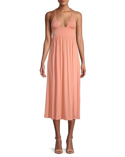 Rachel Pally - Pink Veronique Strappy Midi Dress - Lyst