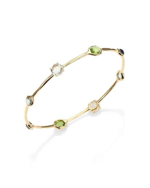 Ippolita - Metallic 18k Yellow Gold Rock Candy Bracelet - Lyst