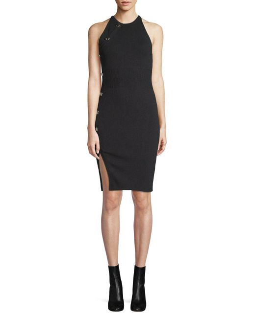 Ronny Kobo - Black Gina Sleeveless Dress - Lyst