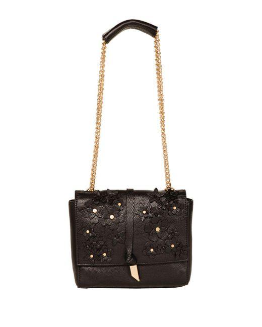 Foley + Corinna - Black Dahlila Crossbody Leather Bag - Lyst