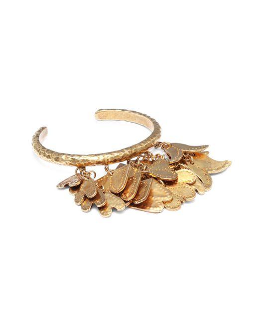 Chloé | Metallic Kiera Brass Cuff Bracelet | Lyst