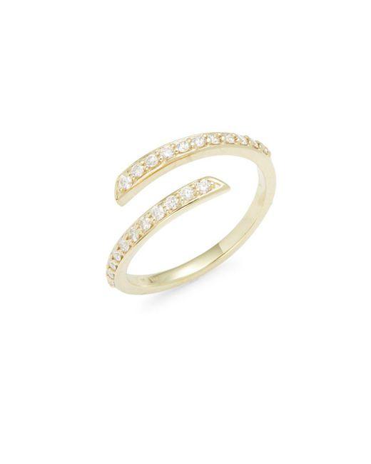KC Designs | Metallic Diamonds & 14k Yellow Gold Fashion Ring | Lyst