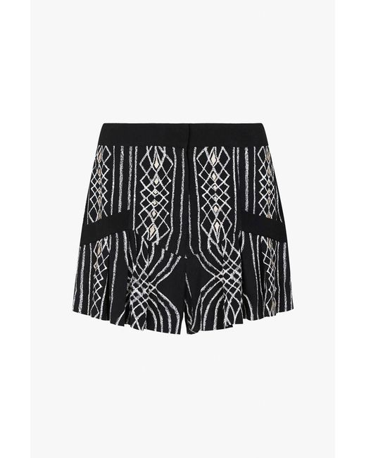 Sass & Bide | Black The Mythology Short | Lyst