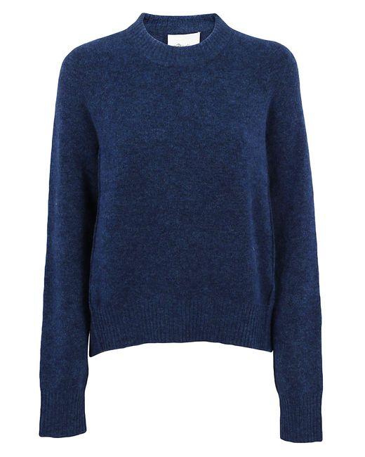 3.1 Phillip Lim - Blue Inset Shoulder High Low Pullover - Lyst