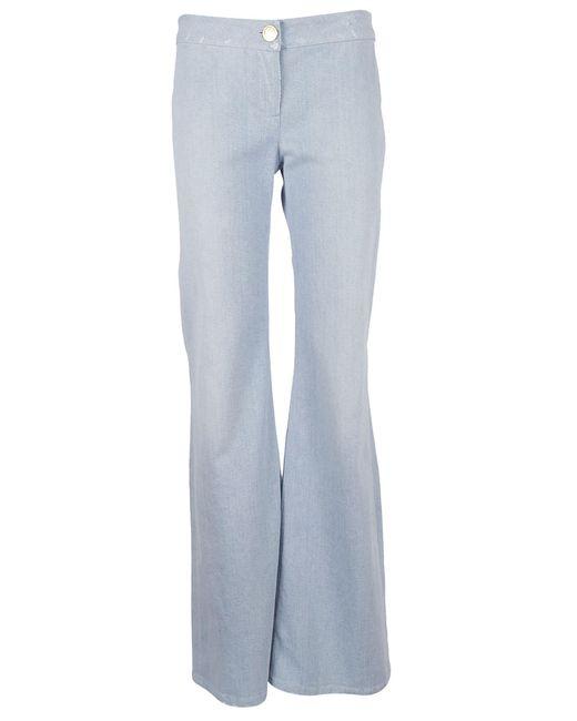 Balmain - Blue Jeans Zampa - Lyst