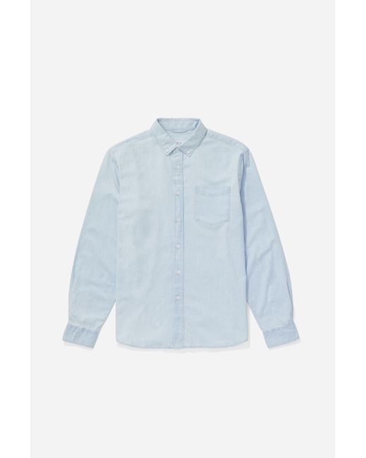 Saturdays NYC - Blue Crosby Button Down Denim Shirt for Men - Lyst