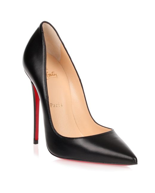 Christian Louboutin - Black So Kate Leather 120mm Pumps - Lyst
