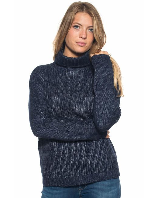 U.S. POLO ASSN. | Blue Wool Jumper | Lyst