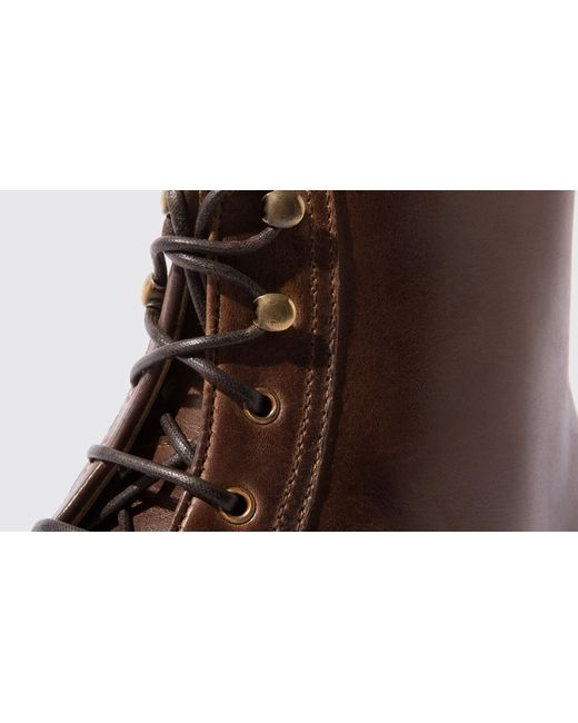 Caramello Lyst Paolo Men For In Scarosso Brown FyS4cBy1H