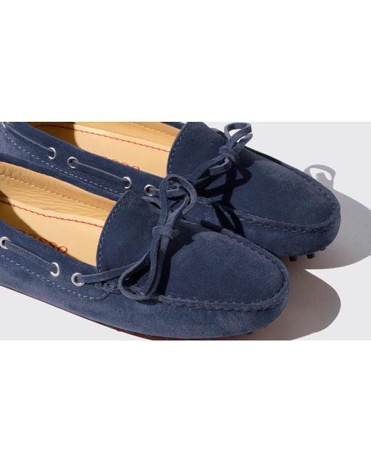 Scuro Scamosciata In Lyst Licia Blu Blue Scarosso 3A5L4Rj