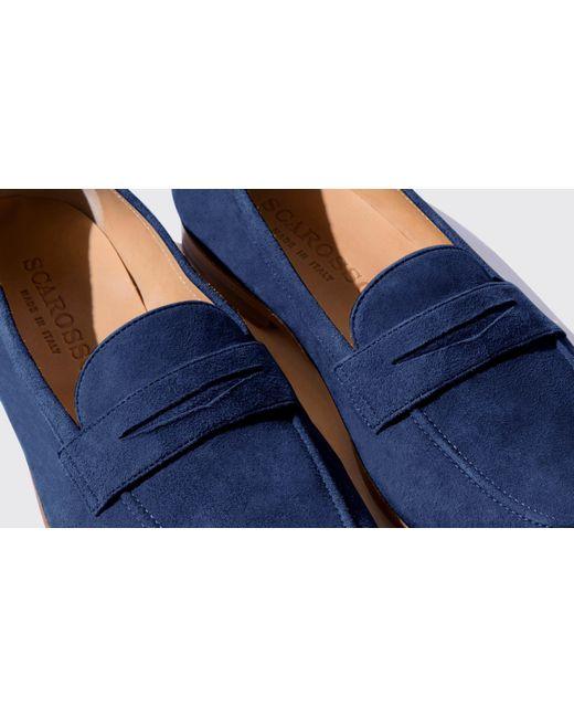 9f483837e30 ... Scarosso - Blue Valeria Blu Scamosciata - Lyst ...