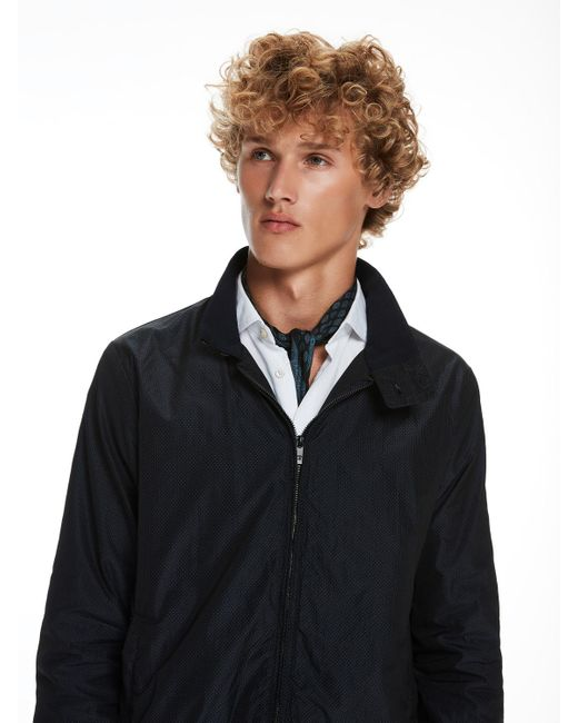Scotch & Soda | Black Mini Patterned Jacket for Men | Lyst