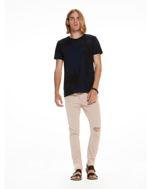 Scotch & Soda | Multicolor Tie-dyed Tee for Men | Lyst