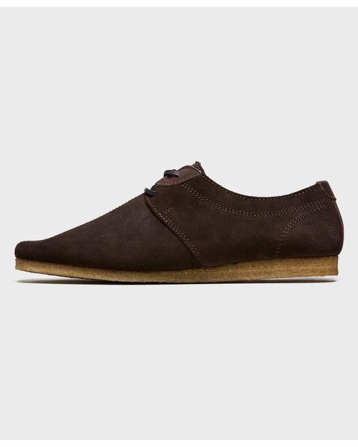 Pretty Green Flat Seam Shoes Brown