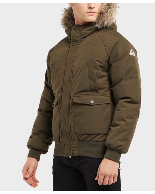 Pyrenex - Green Mistral Fur Padded Jacket for Men - Lyst