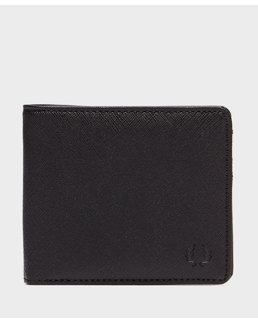 Fred Perry - Black Saffiano Wallet for Men - Lyst