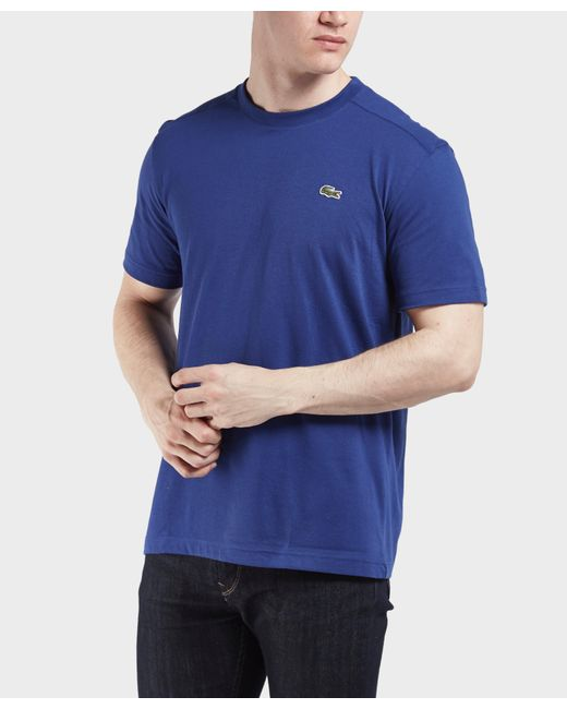 Lacoste | Blue Croc Short Sleeve T-shirt for Men | Lyst