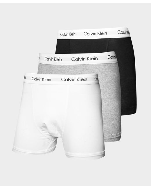 Calvin Klein - Multicolor 3 Pack Boxer Shorts for Men - Lyst