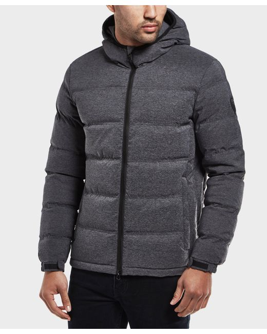 EA7 - Gray Mountain Padded Jacket - Online Exclusive for Men - Lyst